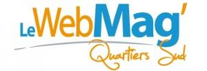 Logo webmag quartiers sud