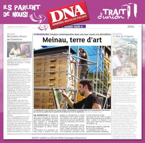DNA du 8 septembre 2013